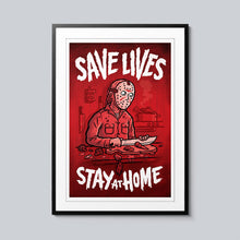 Load image into Gallery viewer, Save Lives (Jason) - Set of 10 Posters