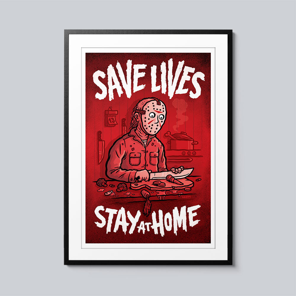 Save Lives (Jason) - Set of 10 Posters