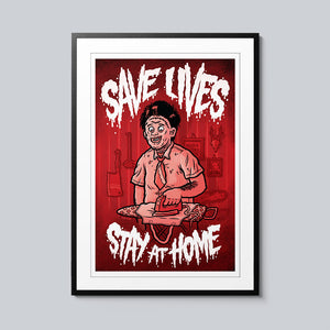 Save Lives (Chainsaw) - Set of 10 Posters