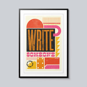 Write Someone - Set of 10 Posters