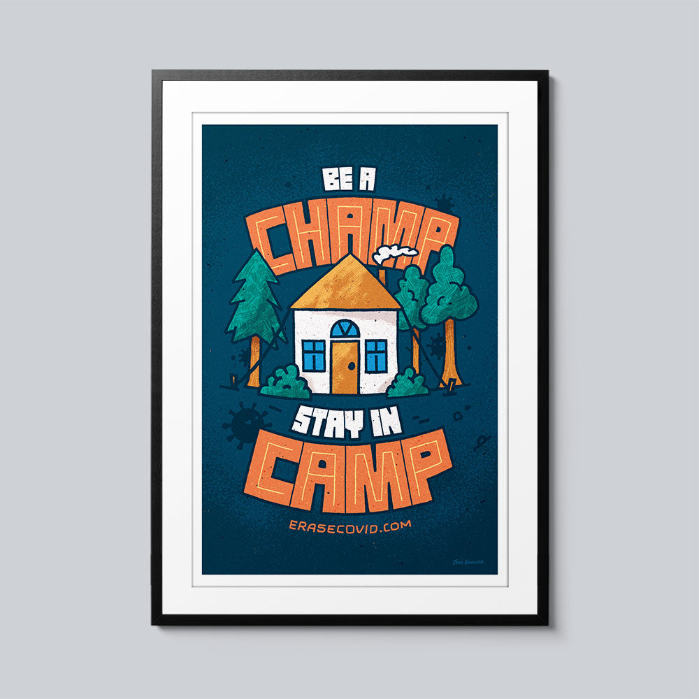 Be a Champ - Set of 10 Posters