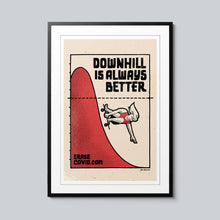 Load image into Gallery viewer, Downhill - Set of 10 Posters
