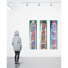 "Load image into Gallery viewer, Antwerp, HD Metal | 60"" x 16"""