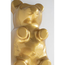 Load image into Gallery viewer, Metallic Gold, Set of 3 Gummy Bears