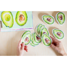 "Load image into Gallery viewer, Avocado Sticker | 4"" x 3"""