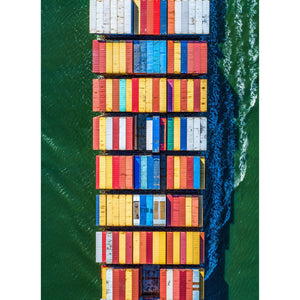 "MSC Charleston Midsection | 12"" x 16"" print"