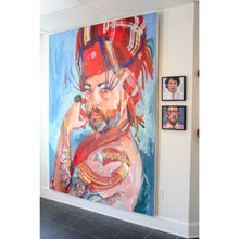 "Load image into Gallery viewer, Shania | 96"" x 72"""
