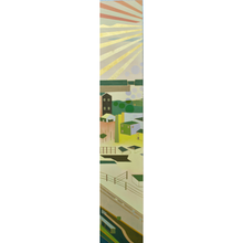 "Load image into Gallery viewer, Wonderwheel #46 | 55"" x 10"""