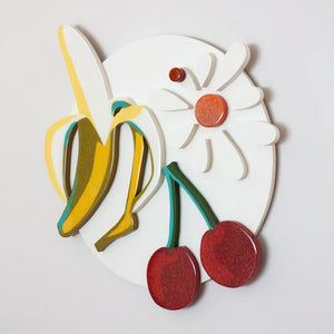"Fruit Basket Upset | 29"" x 28"" x 2.5"""
