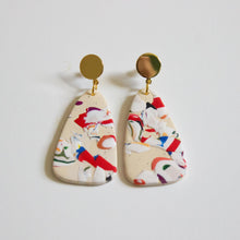 Load image into Gallery viewer, Bedford Print Foliage Earrings
