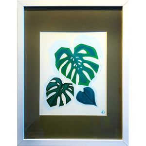 "Monstera Study II | 16"" x 12"""