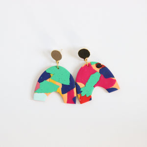Arches // Multi Heritage Earrings