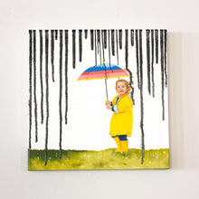 "Load image into Gallery viewer, Paint Rain V | 12"" x 12"""