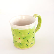 Load image into Gallery viewer, Green Sprinkle Mug