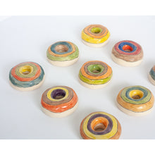 Load image into Gallery viewer, Rainbow Orb Donuts