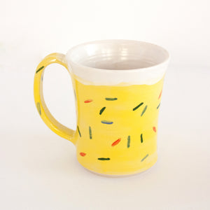 Yellow Sprinkle Mug