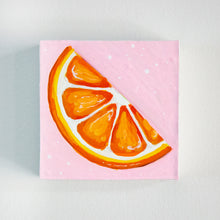 "Load image into Gallery viewer, Orange Slice II | 4"" x 4"""