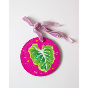Tropical Leaf Ornament