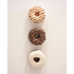 "Classic Chocolate Donut Set | 4"" donuts"