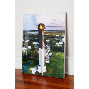 "Lighthouse, HD metal | 24"" x 18"""