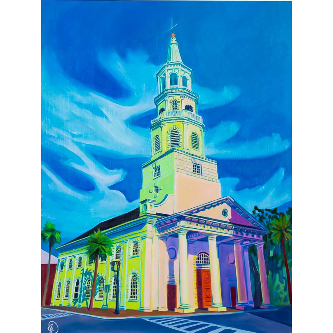 "St. Michael's Church | 24"" x 18"""