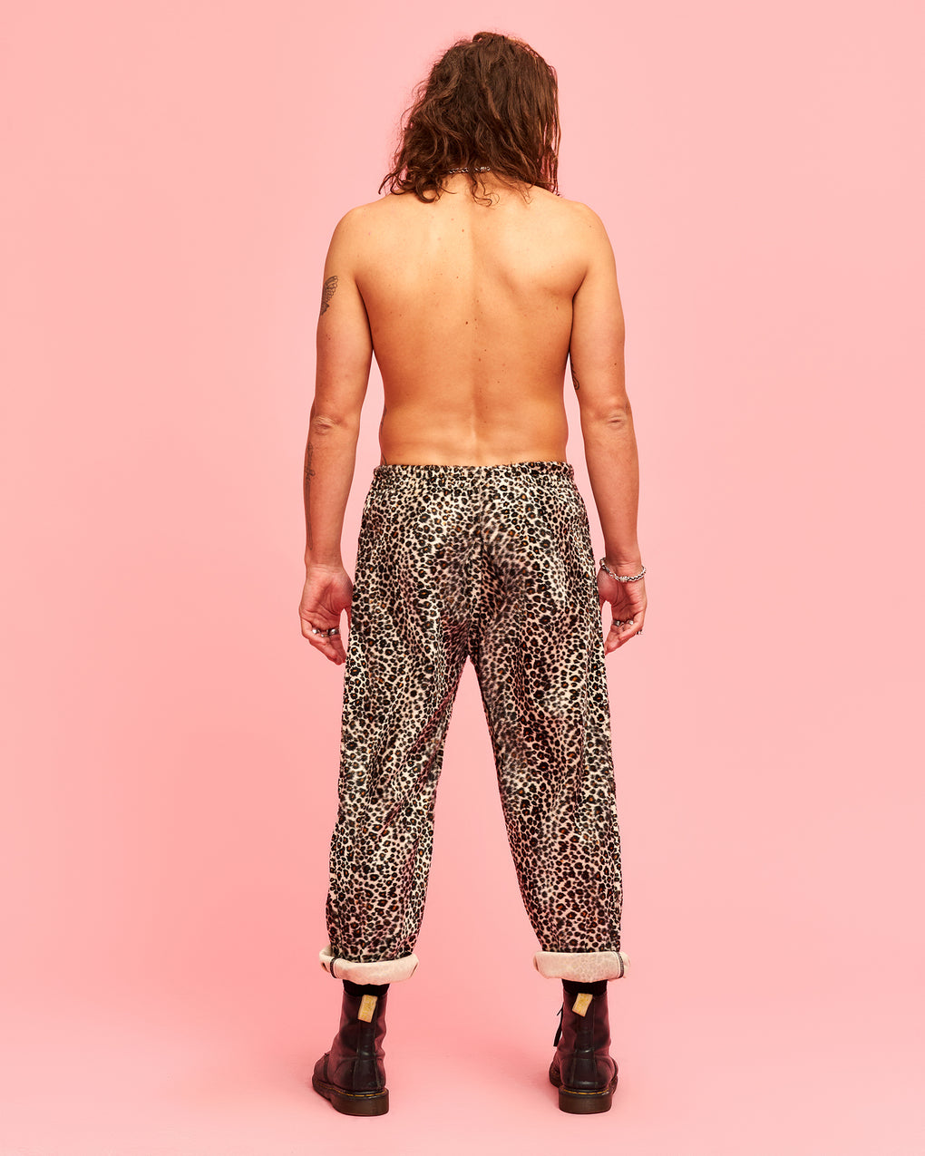LEOPARD PARTY PANTS - FROTHLYF