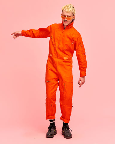 Tekkaz Jumpsuit Orange - FROTHLYF