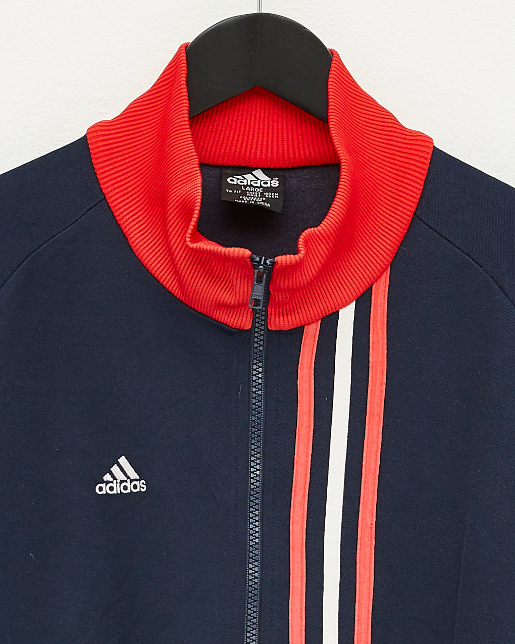Adidas Red Stripe Sports Jacket (L)