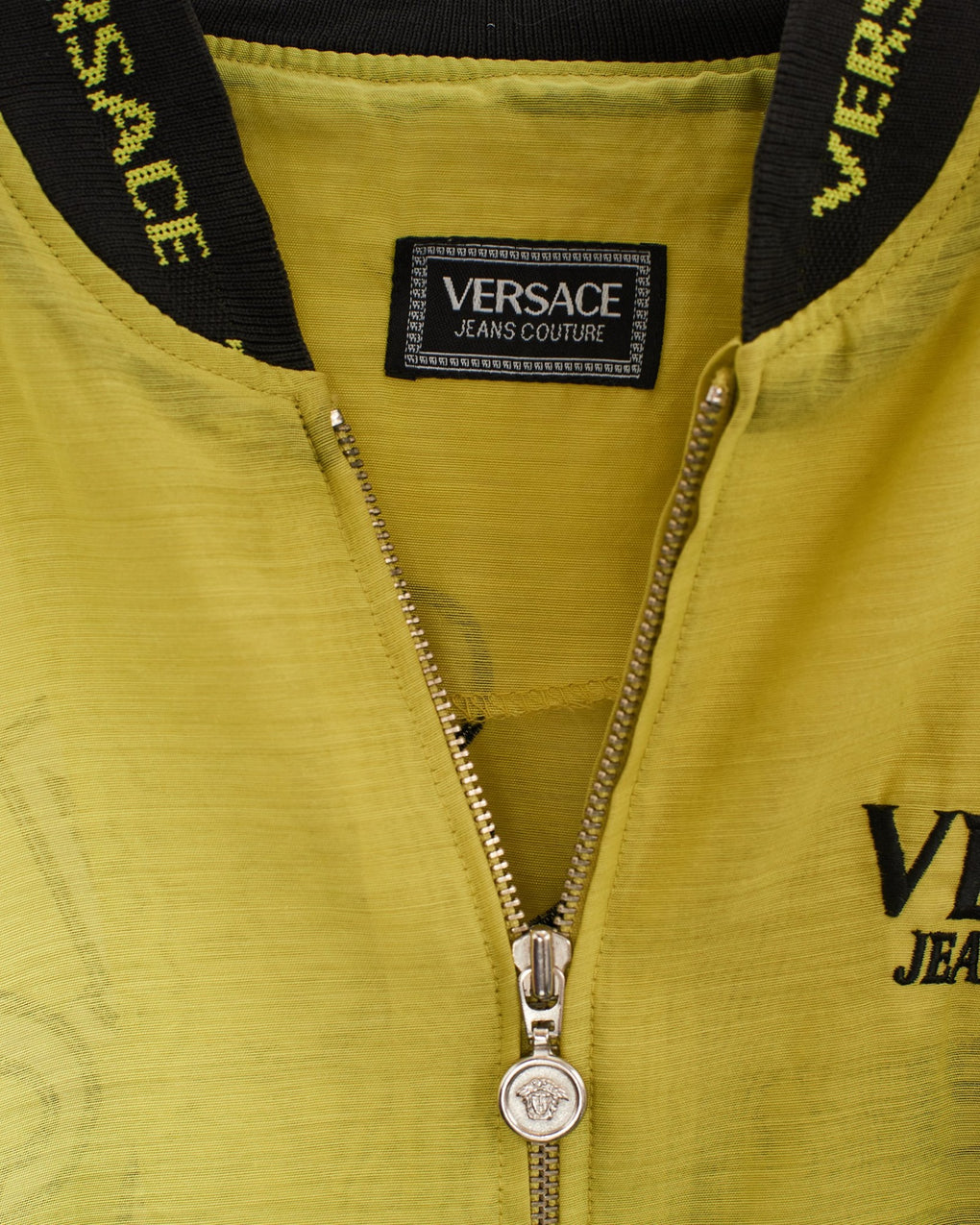 VINTAGE VERSACE BOMBER **RARE (M) - FROTHLYF