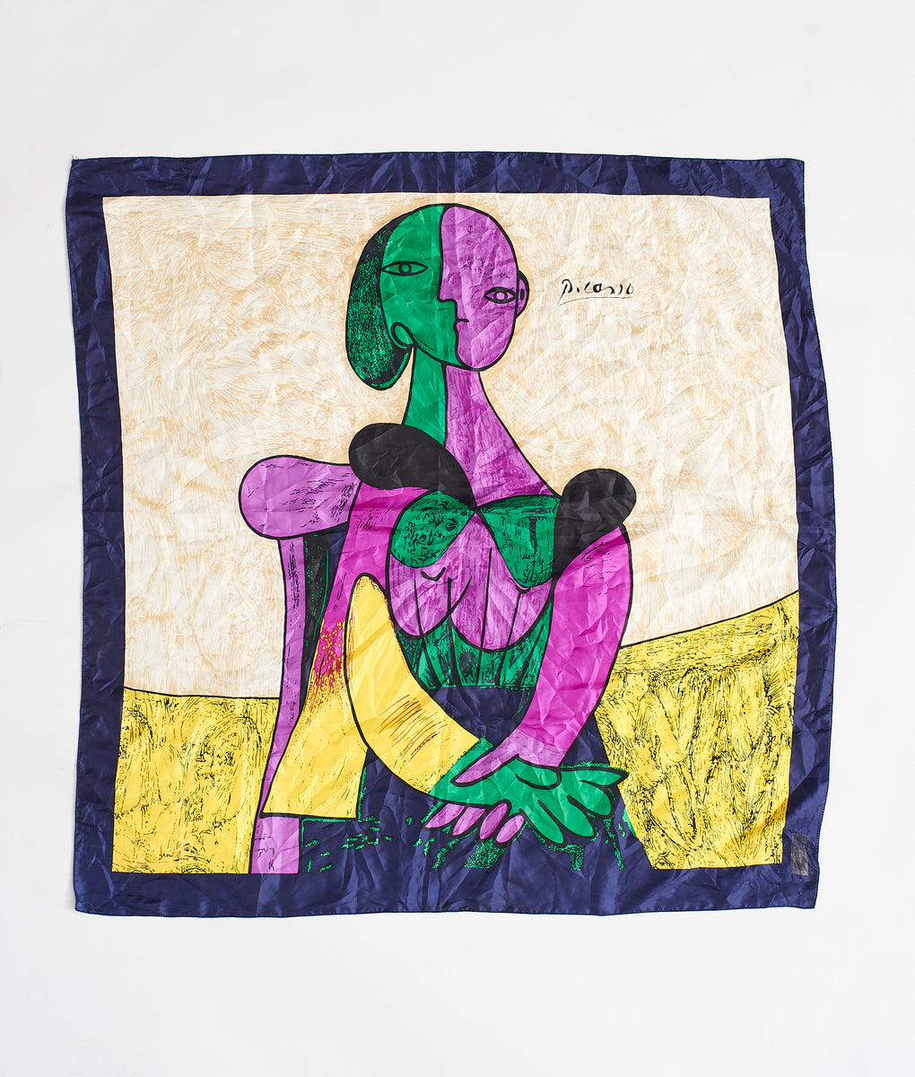 PICASSO SILK SCARF - FROTHLYF