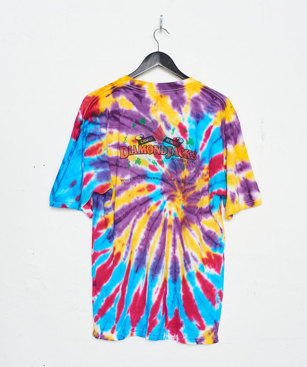 Diamond Jacks Casino Tie Dye (XL) - FROTHLYF