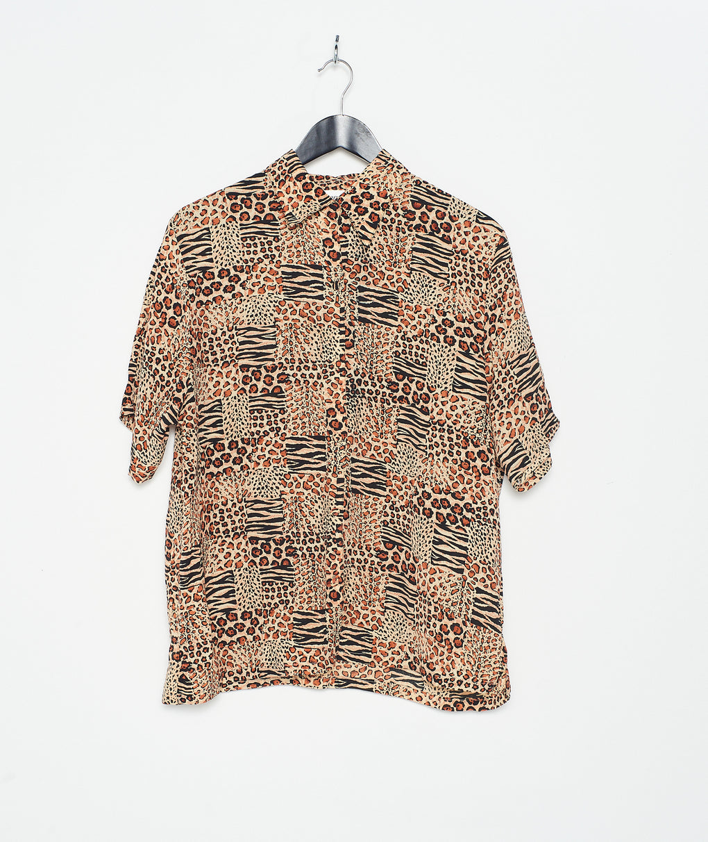Cleopatra Leopard S/S Shirt (S)