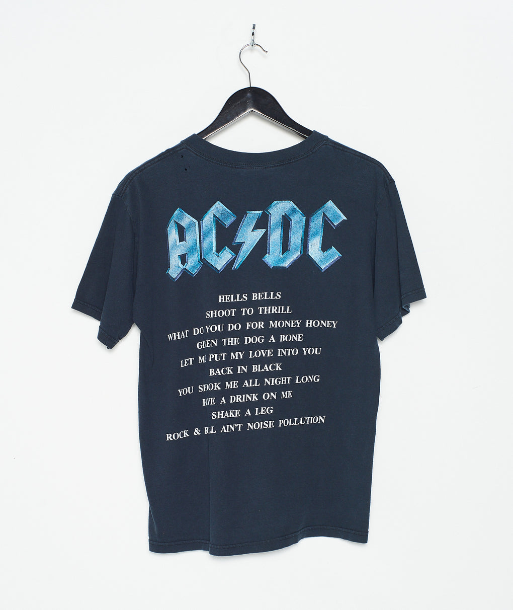 ACDC 'Back in Black Tee (M)