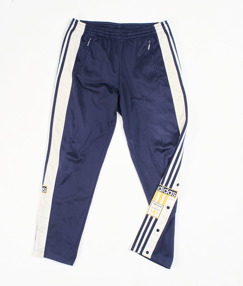 Adidas Popper Track Pants Navy (L)
