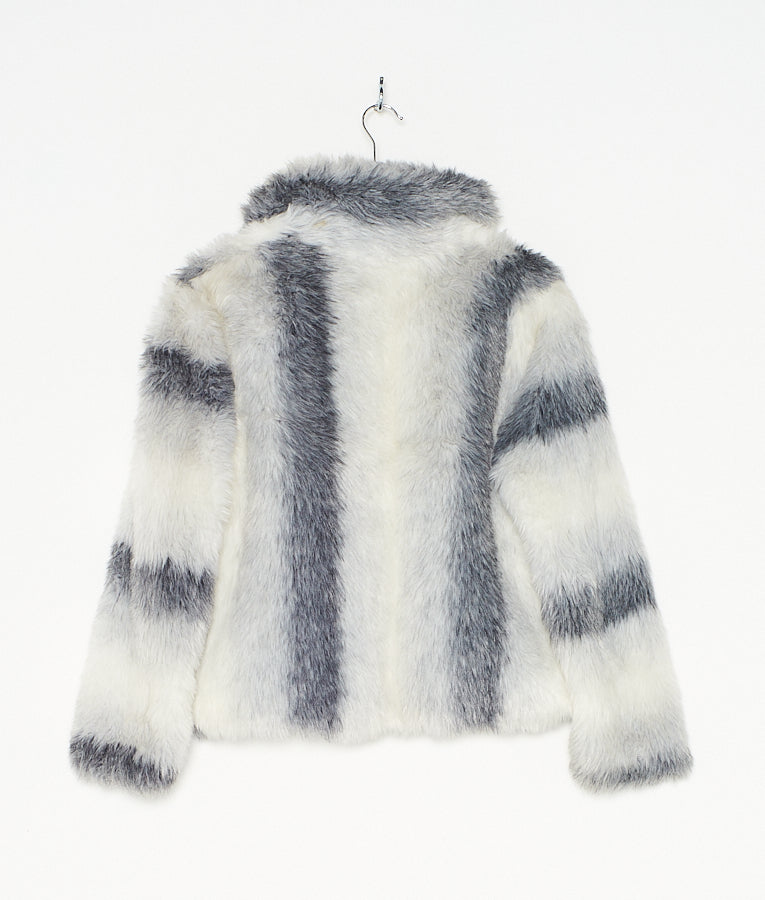 Stripe Crop Fur (S)
