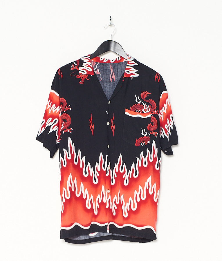 Flaming Dragon Shirt (S)