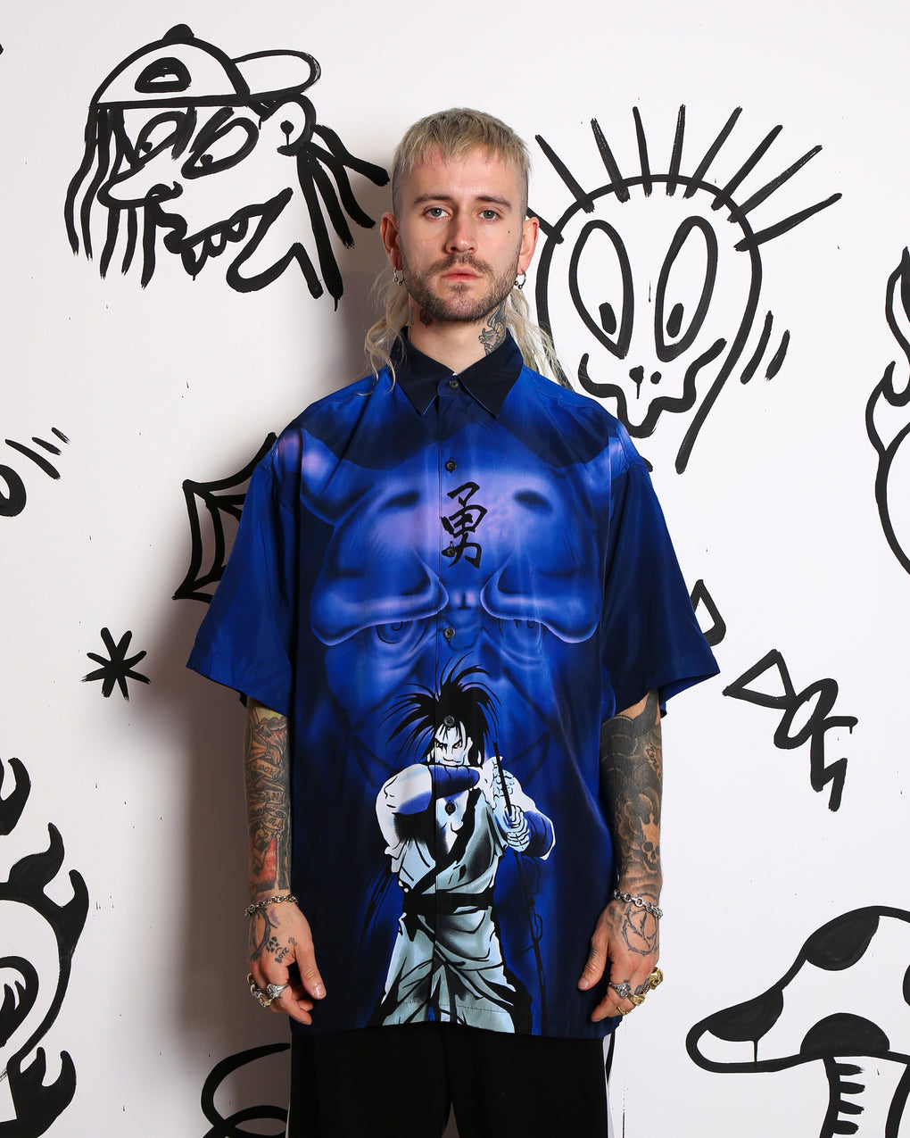 SAMURAI DEMON SHIRT