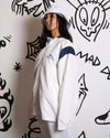 WHITE KAPPA SPORTS JACKET
