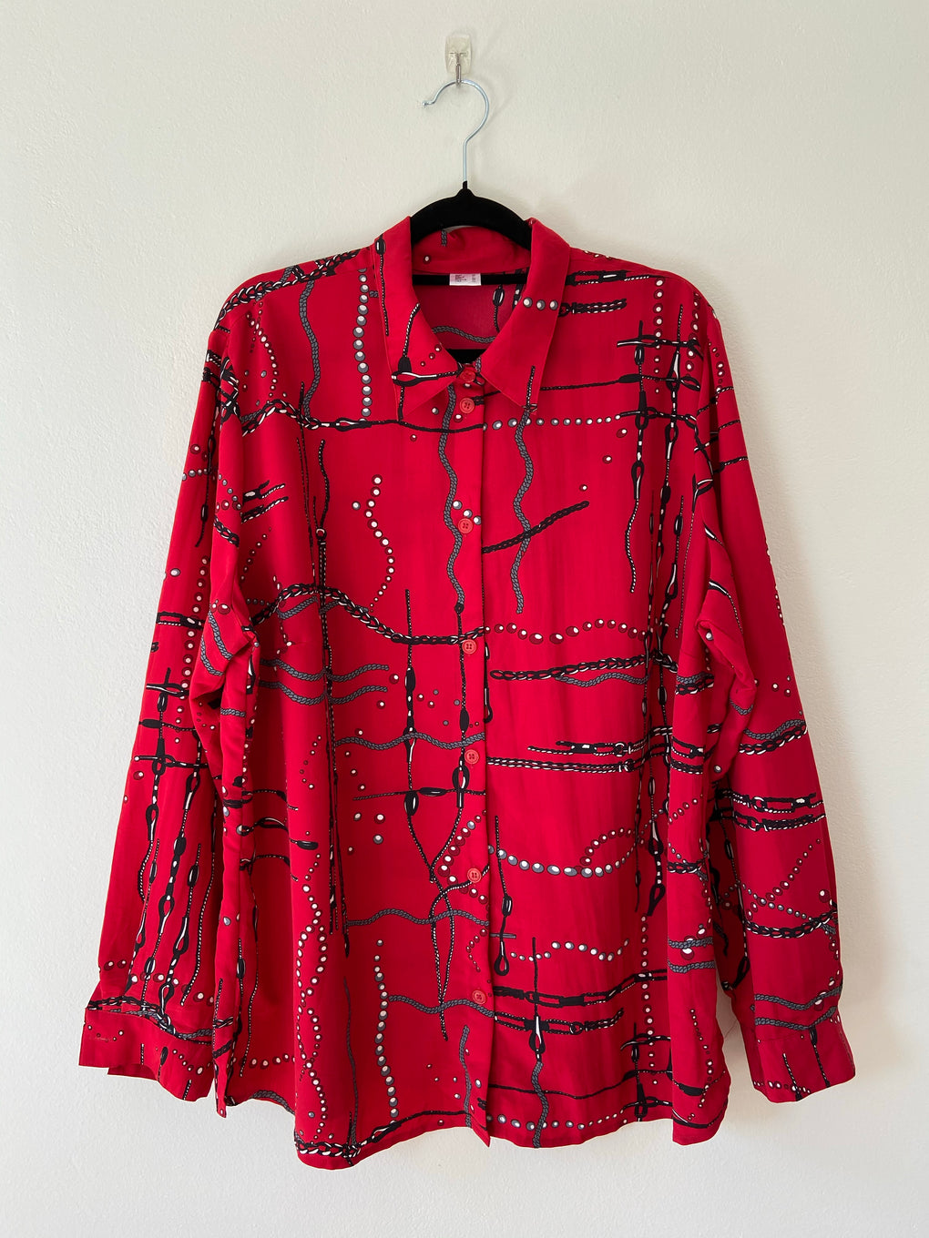 Crimson Pearls L/S Shirt - FROTHLYF