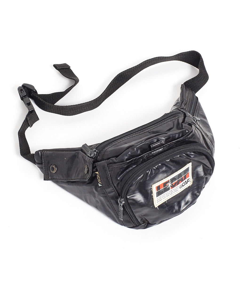 LE CAF FAUX LEATHER BUMBAG