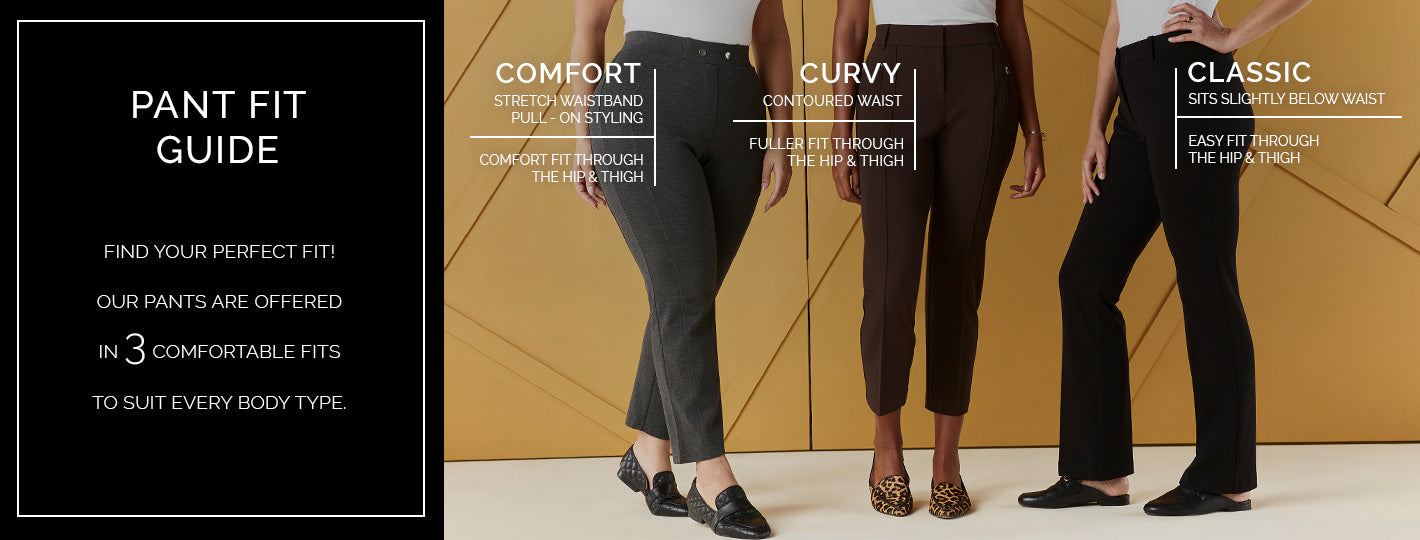 Pant Fit Guide