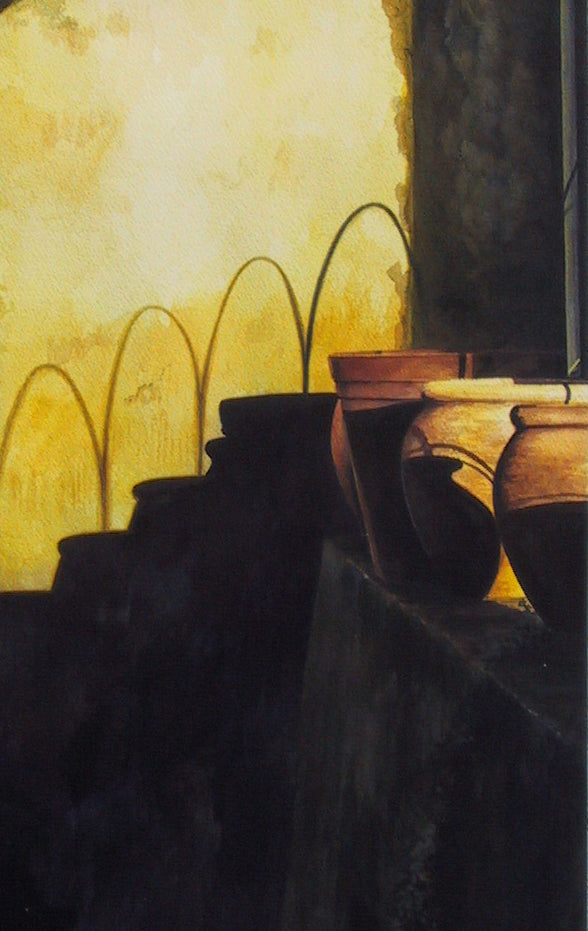 TERRACOTTA_TUBS_II - ORIGINAL PAINTING