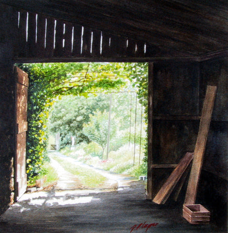 SECRET GARDEN - ORIGINAL PAINTING