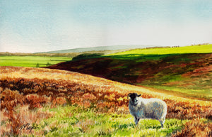 HOLE OF HORCUM - ORIGINAL PAINTING