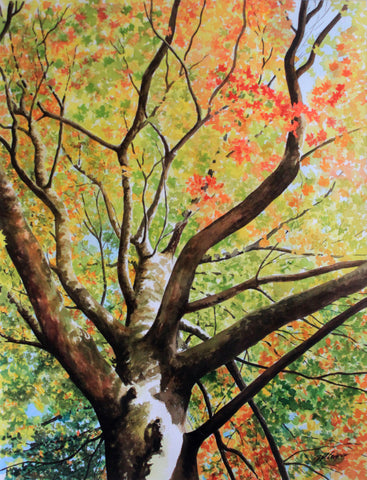 EARLY AUTUMN - ORIGINAL PAINTING