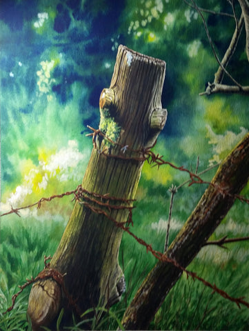 FENCEPOST - ORIGINAL PAINTING