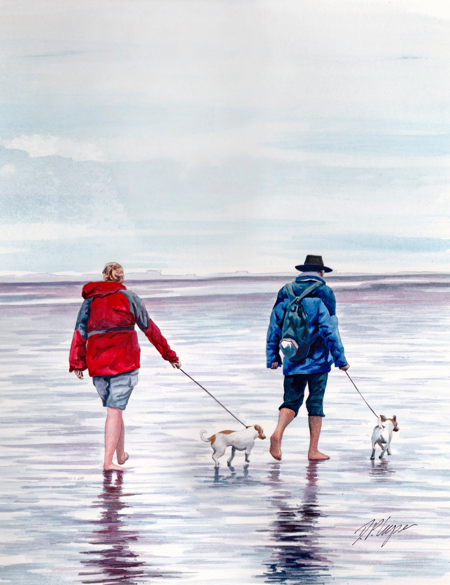 BAY WALK - ORIGINAL PAINTING