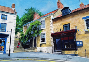 BIRDGATE, PICKERING, NORTH YORKSHIRE - ORIGINAL PAINTING