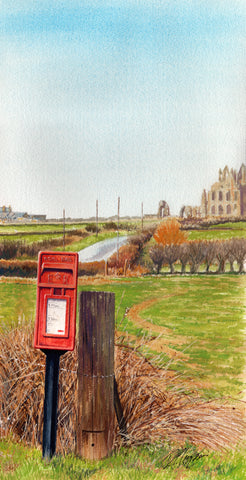 WHITBY POST - ORIGINAL PAINTING