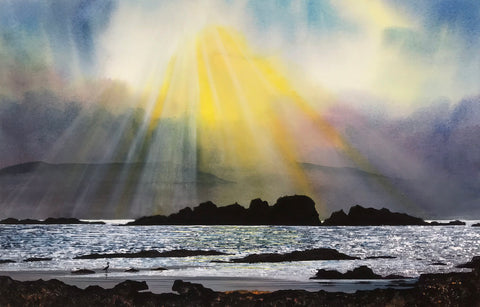 MORNING LIGHT - ARDVASAR - SKYE - ORIGINAL PAINTING